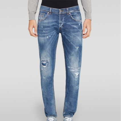 Ritchie denim strappato