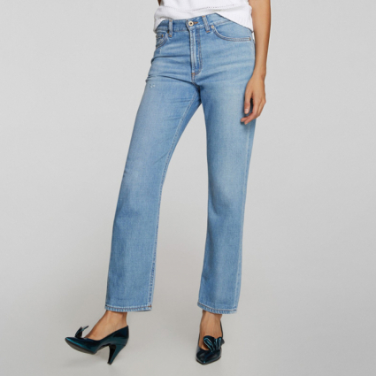 Jenna jeans loose fit in denim Dondup