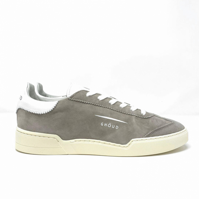 Ghoud Low Man Suede Stone