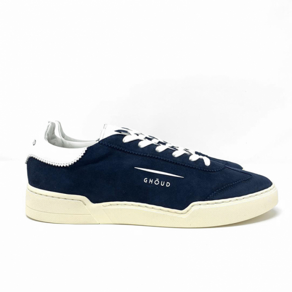Ghoud Low Man Suede Blu